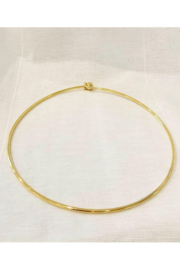 Gargantilha-dourada