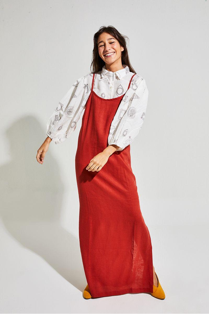 vestido-decote-v-madeira