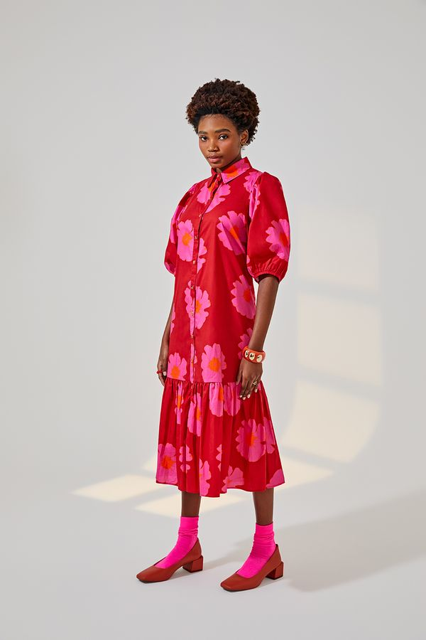 vestido-manga-bufante-floral-pop-vermelho