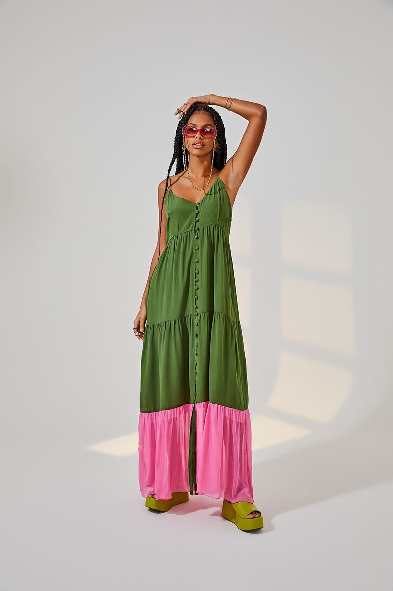 Vestido-botoes-verde-oliva